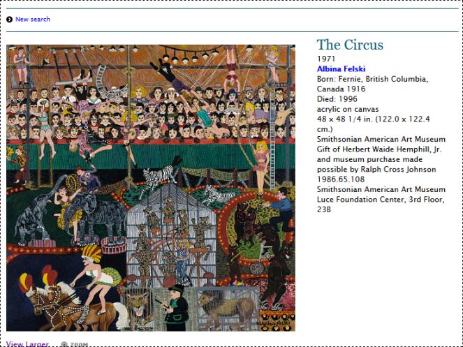the circus by Albina Felski