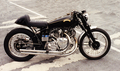 1952 vincent black lightning