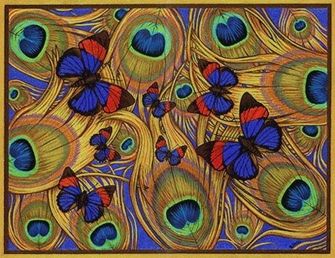Peacock-butterfly-lighter