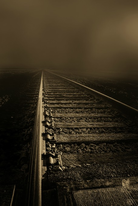 depot in fog