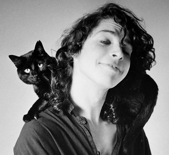 chris cornell young with cat