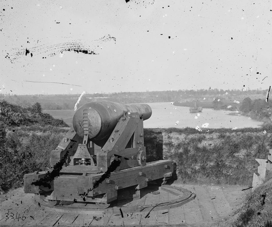 cannon on bluff