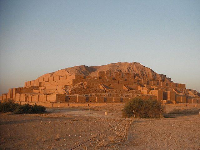 choga Zanbil, Iran built by King Untash-Napirishs