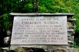 eternal flame cherokee nation