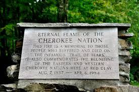 eternal flame cherokee nation