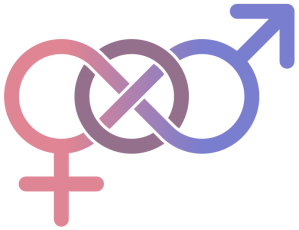 hermaphrodite and trans symbol