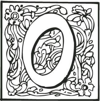 letter-o