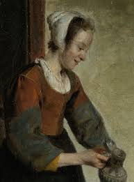 maid with flagon