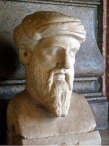 pythagorus bust
