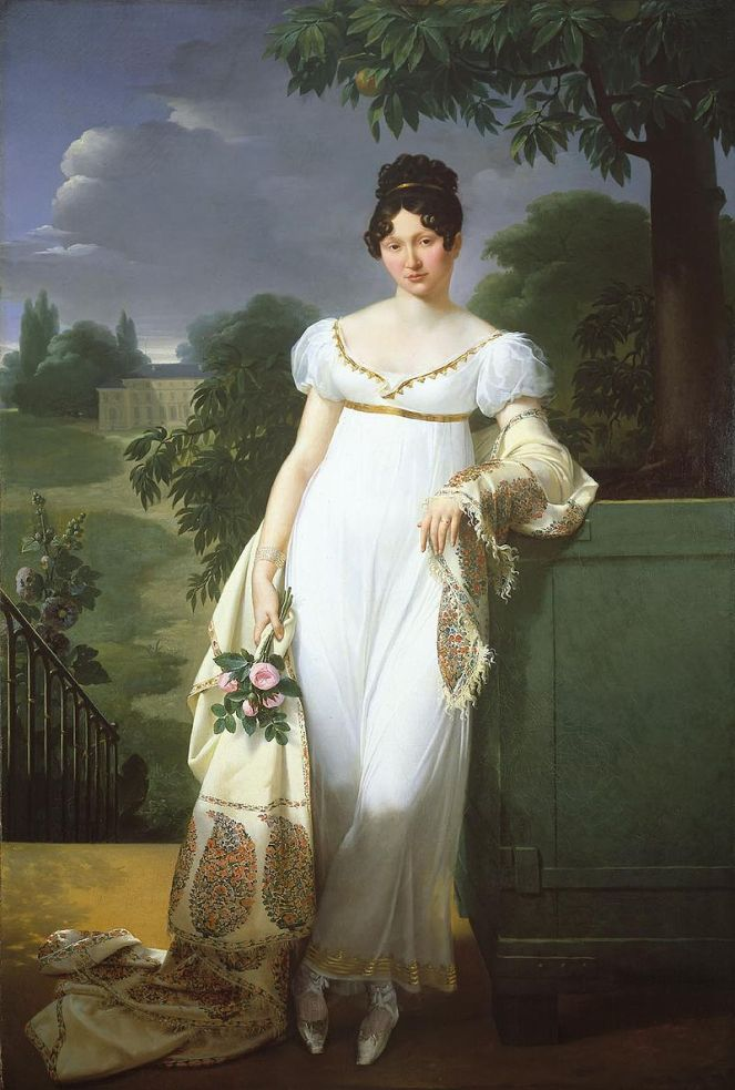 lady in white JUNE