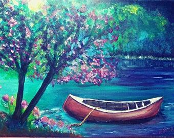 raspberry canoe