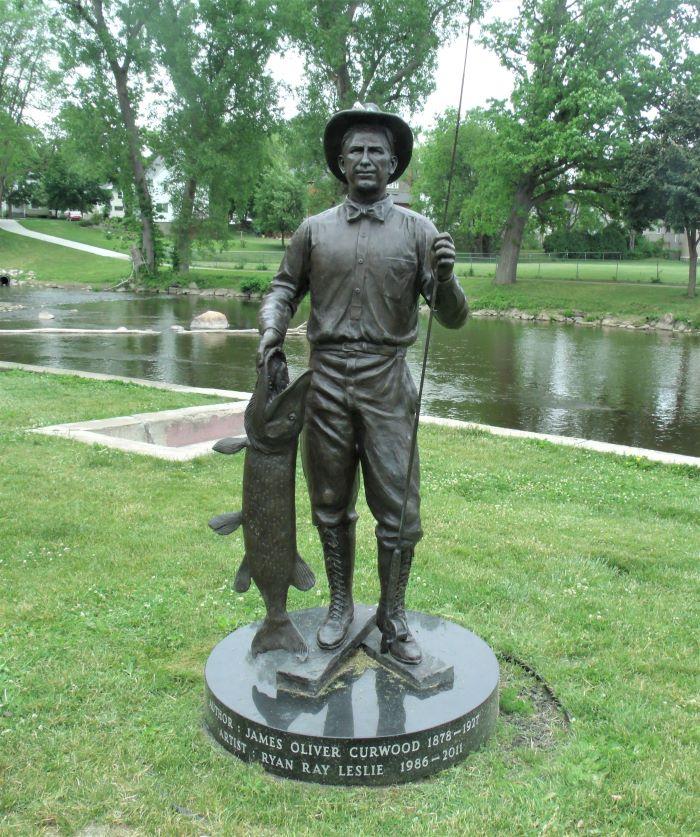 resized curwood statue