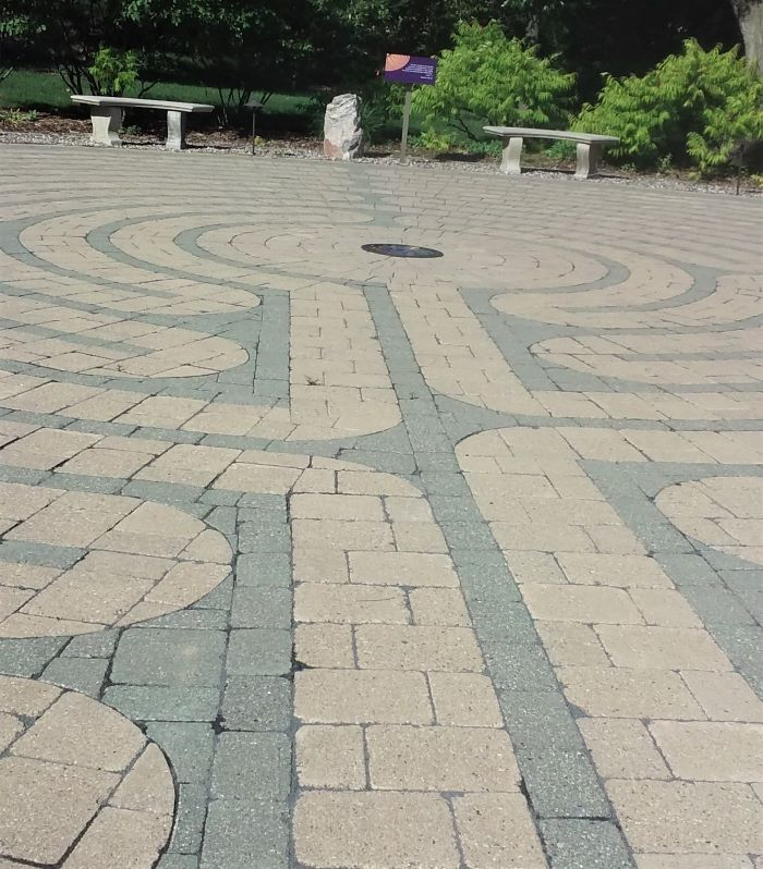 resized labyrinth middle section