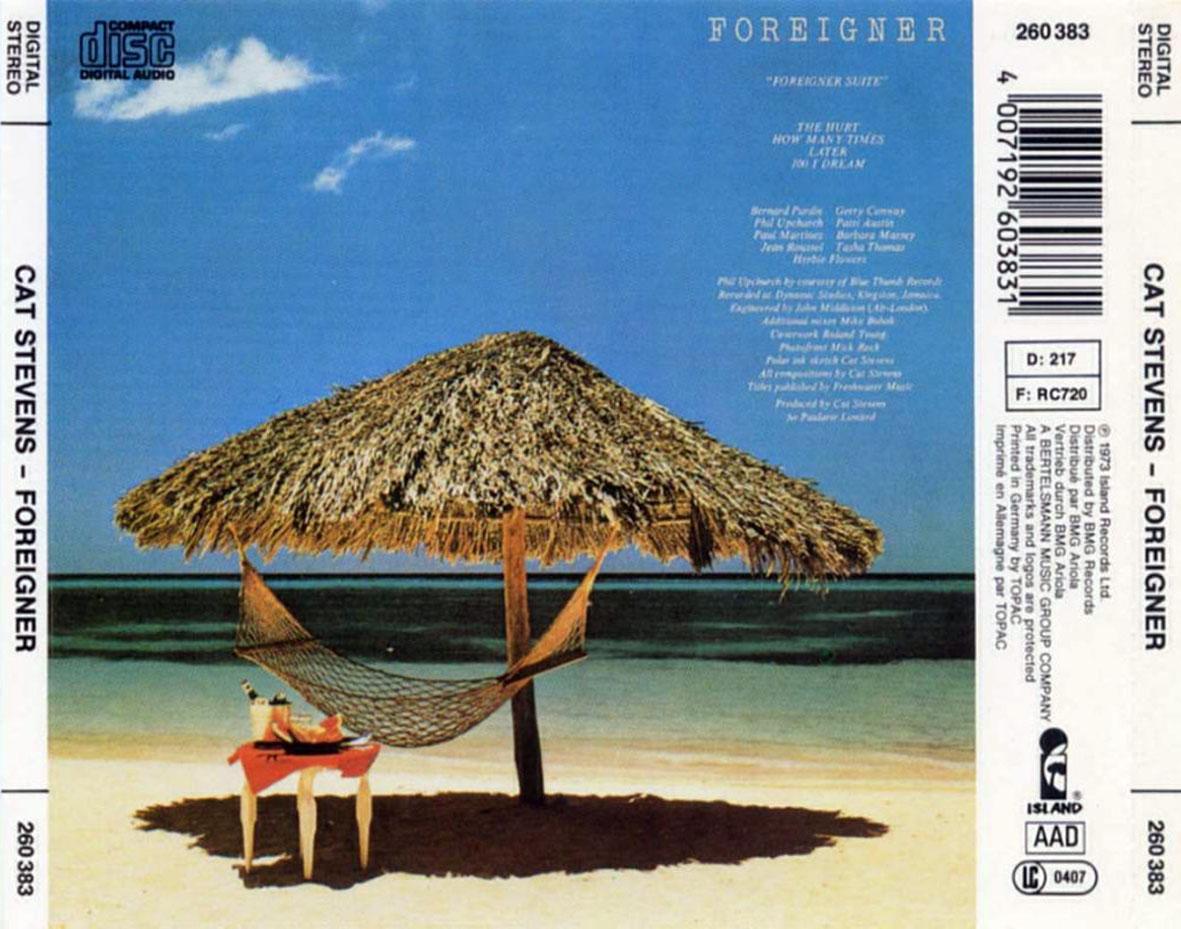 SAM1957: Cat Stevens - Foreigner (UK) (1973)