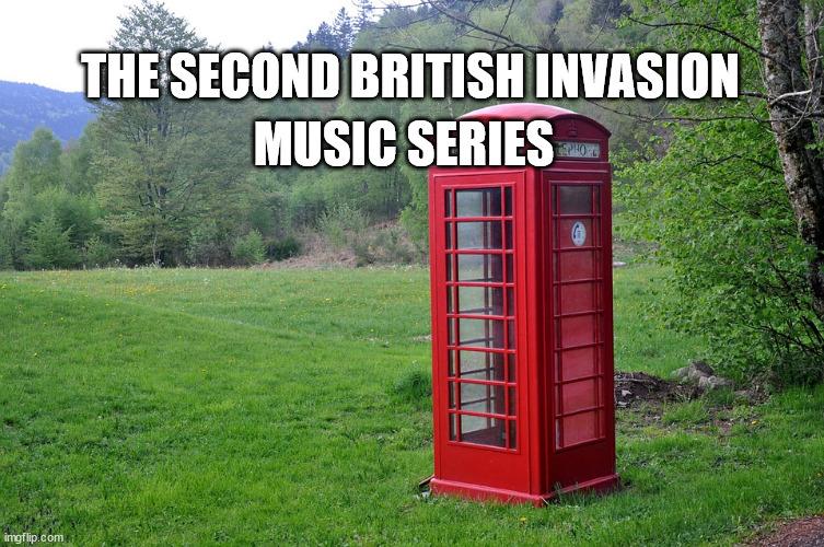 The Second British Invasion Music Series banner